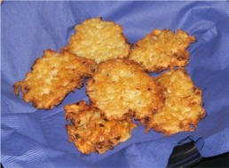 Yummy latkes!